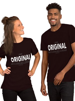 i AM Original Short-Sleeve Unisex T-Shirt