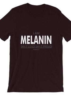 i AM Melanin Short-Sleeve Unisex T-Shirt