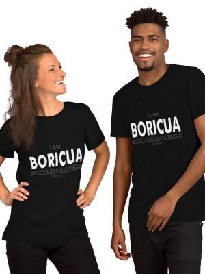 i AM Boricua Short-Sleeve Unisex T-Shirt