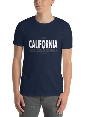 i AM California Short-Sleeve Unisex T-Shirt