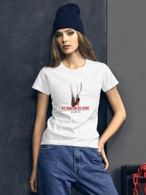 Go High or Go Home Women's short sleeve t-shirt
