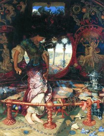 Holman-Hunt,_William,_and_Hughes,_Edward_Robert_-_The_Lady_of_Shalott_-_1905
