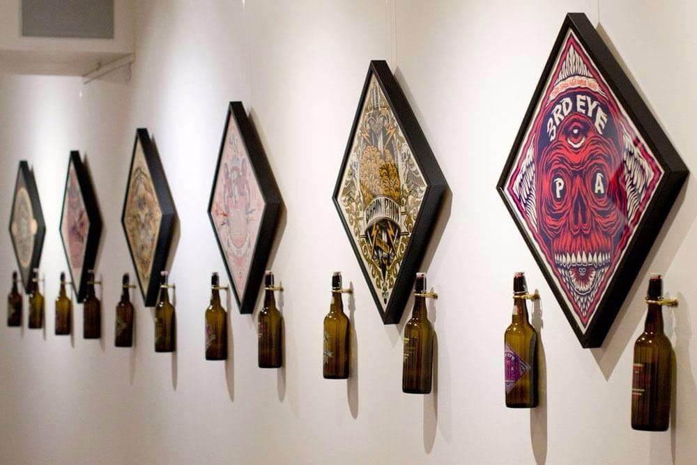 Tom J Newell Artist Beer Visions