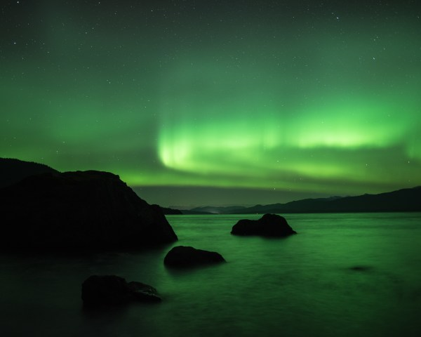 Northern Lights, Aurora, Hoonah, Alaska, Print, Sale