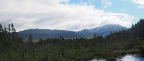 A Panorama of Mount Katahdin