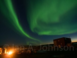 Aurora Borealis over Toolik Field Station.