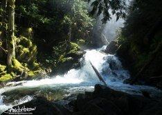 Snow Creek Falls, Idaho.
