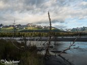 Beautiful light and scenery outside of Seward, Alaska.