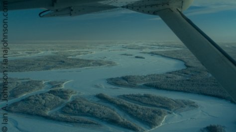 Going over the Yukon heading south this time. What a huge, daunting river!