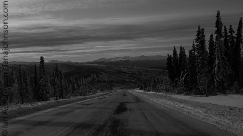 A beautiful vista transformed to black and white via post-processing