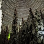 November 11th : Star spin over a winter wonderland