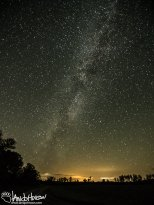 August 24th : Midwest milky way