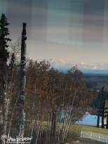 October 5th : Overlooking the Totem at the University of Alaska Fairbanks