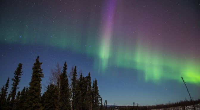 The Sun-kissed Aurora