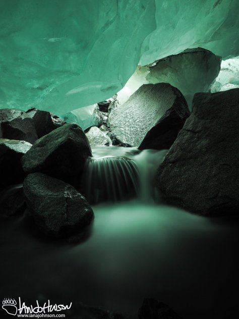 The ice caves of the Mendenhall glacier are stunning, and glaciers define the entire Southeast Region of Alaska, including Juneau.