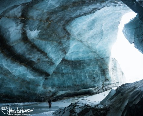 Castner Ice Cave Cathedral