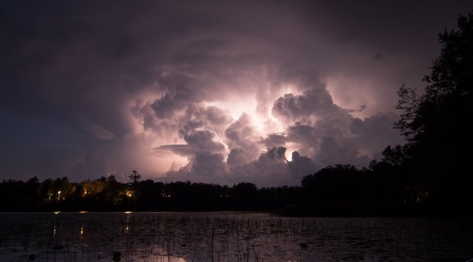 Thunderstorm at the Lake