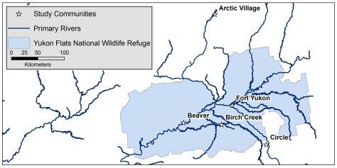 Yukon Flats Study Area