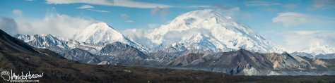 Mount Denali Panorama, Denali National Park, Alaska