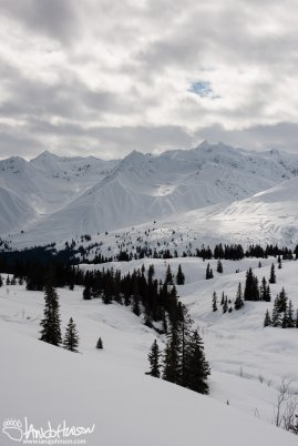 The mountains of Haines Pass