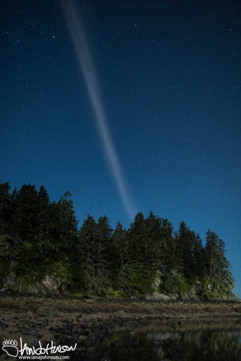 Proton Arc, Hoonah, Alaska, Aurora Borealis