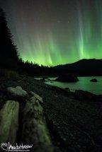 Aurora Borealis, Alaska, Southeast Alaska, Hoonah