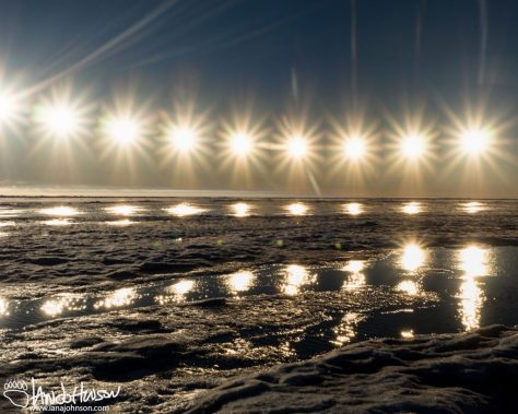 Barrow, Alaska, Midnight Sun, Composite