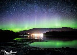 Aurora Borealis, Hoonah, Alaska