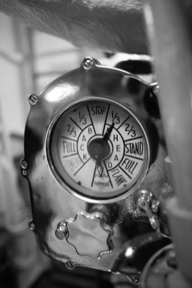 USS Bowfin, Pearl Harbor, Oahu, Black and White
