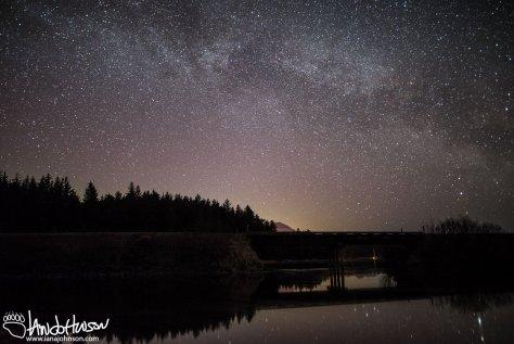 Milky way, hoonah, alaska, stars