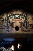 Glacier Bay National Park, Tribal House, Huna Shuka Hit, Totem Pole, Carving, Southeast Alaska, Alaska