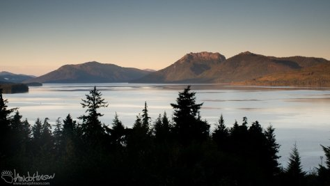 Sunrise, Port Frederick, Hoonah, Neka Mountain