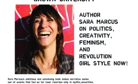 Sara Marcus @ Brown University