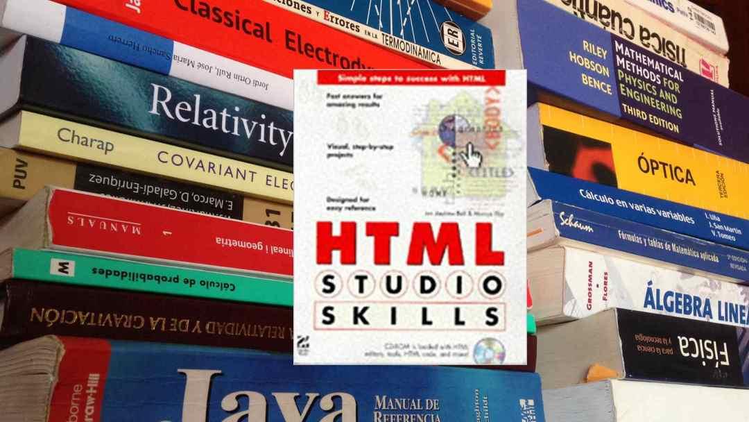 Book: HTML Studio Skills (1997)