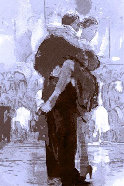 image of tango dancers