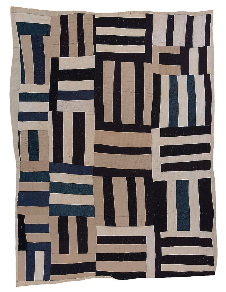 Quilt by Plummer T Pettway of Gee's Bend