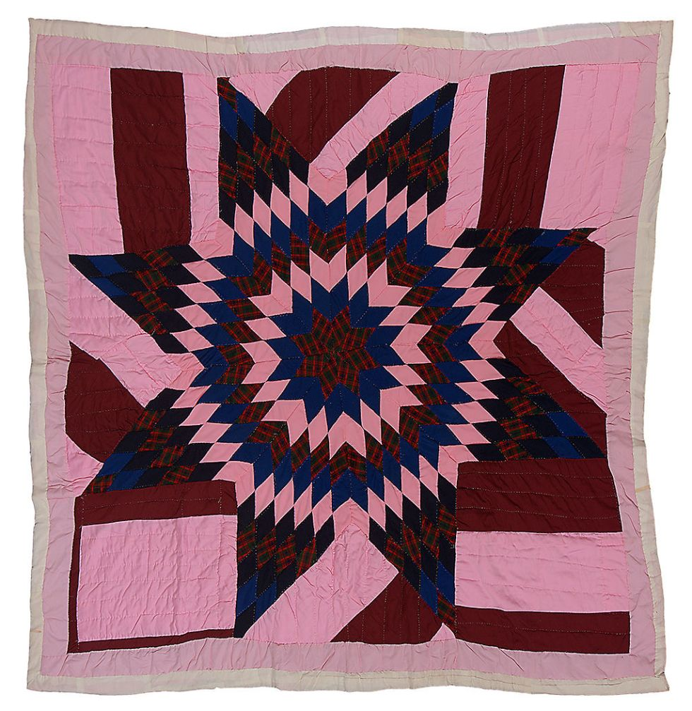 Quilt by Sally Mae Pettway of Gee's Bend