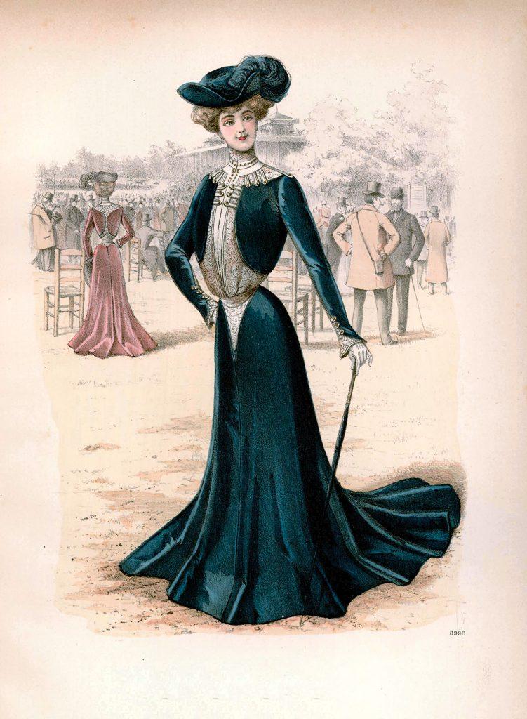 victorian fashion illustration