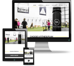 The Fitness Academy Athboy Web Design