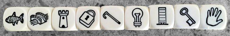 Re-arranged cubes