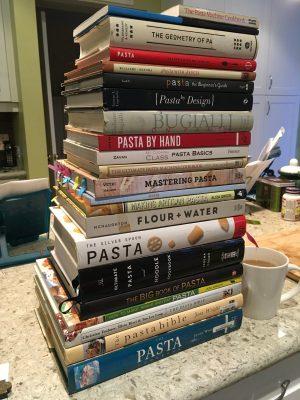 My pasta books