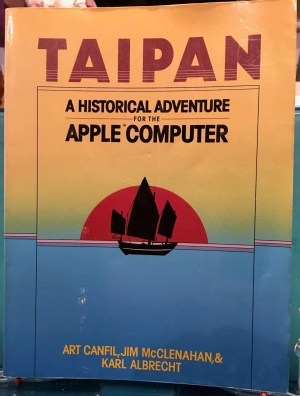 Taipan, a computer game in BASIC