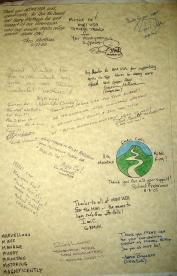 MINIsOnTop MOT2005 proclamation signed by everyone