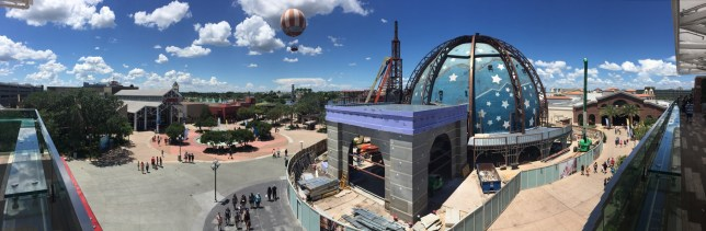 View from the Coca Cola store, Disney Springs