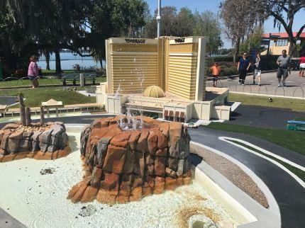 Legoland Mirage Volcano