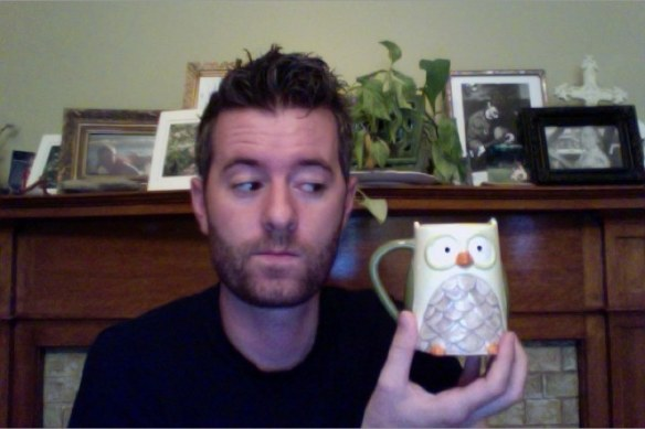 Me and my owl mug