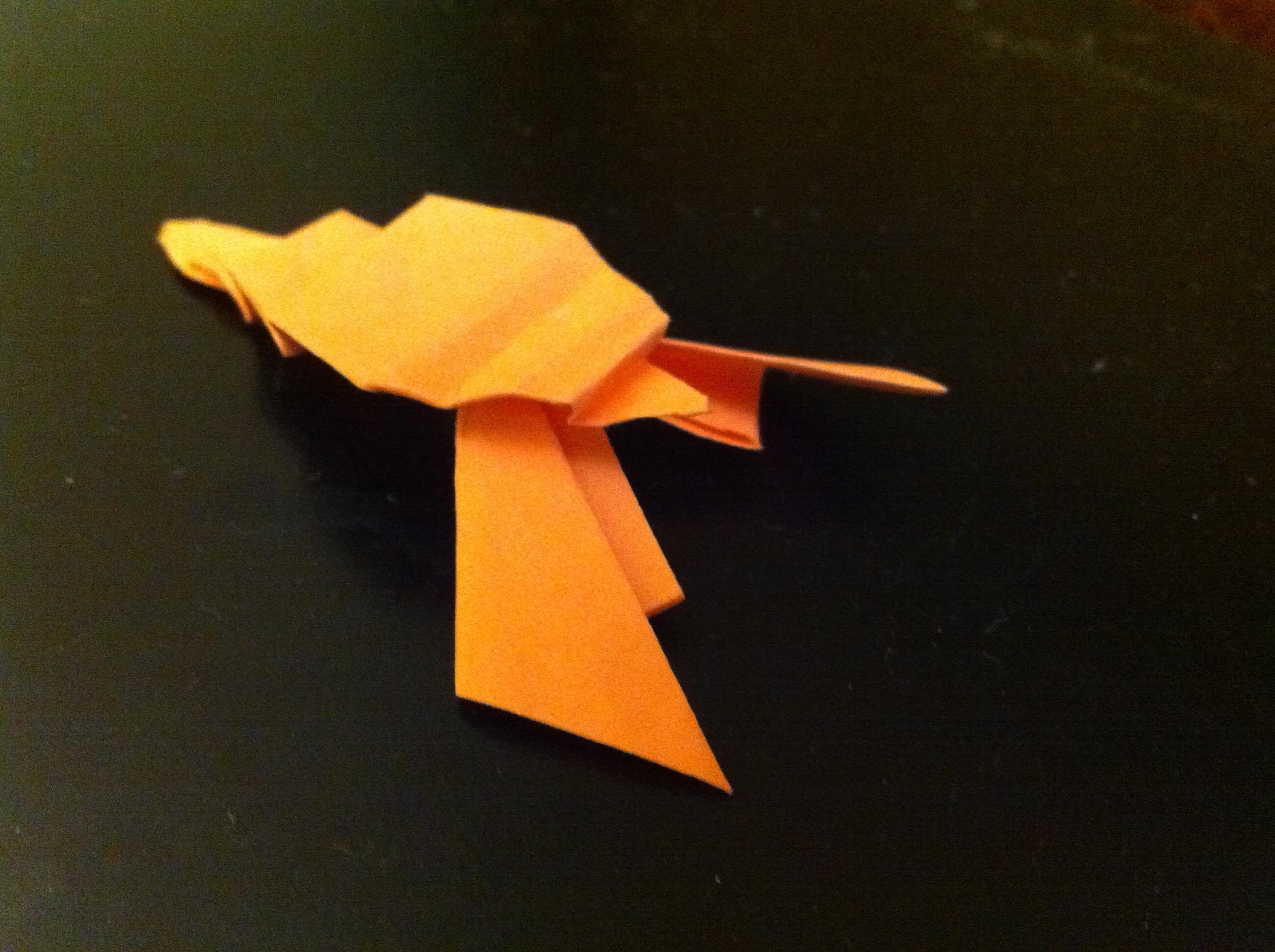 Origami Lobster Ian Daniel Stewart