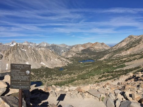 A quick look back at some of what we went through over the previous couple days before continuing over the other side of the pass for our first resupply. Relish in your accomplishments.