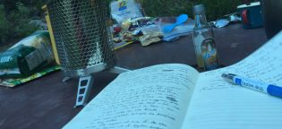 Booze and journaling.