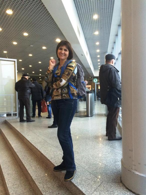В аэропорту Шереметьево перед вылетом